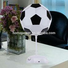 Colorful bedside lamp Mini gift desk lamp Fan, football small desk lamp