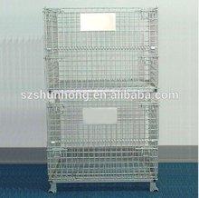 Stackable Roll Box Pallet Storage Bin