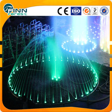 LED light 5m decorative outdoor dancing water fountains circle and round water fountain