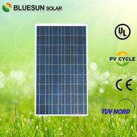 Bluesun cheapest price poly 100W solar cell 18v for sale