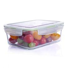 ODM OEM hot sale 3-pcs set stackable glass food container set