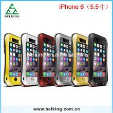 5.5 inch!!! Slim waist love mei aluminum metal case for iPhone 6 plus protective love mei metal case