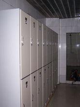 PVC Z locker with coin locker