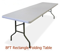 8ft rectangular folding sale cheap plastic tables and chairs
