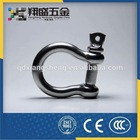 Screw Pin Bow Shackle Rigging Hardware