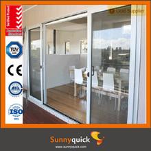China factory aluminum sliding door interior push and pull door