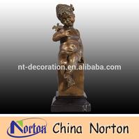 Small children bronze garden sculpture NTBH-C025