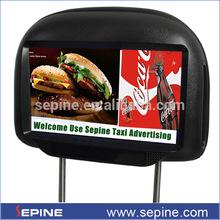 """9"""" android dijital tabela reklam taksi ekran arka koltukta araba kafalık tv"""