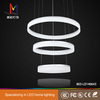 Plastic made in China crystal led chandelier light