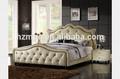 المفروشات الكلاسيكية سوبر الأمريكية سرير ضخم مع التلفزيون في مسند mpac-- 024