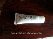 hotel bathroom supply 20ml shaving cream for man