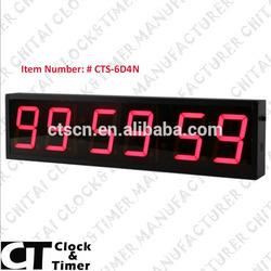 Alibaba China Remote LED Large Display Digital Master Clock System