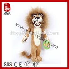 China wholesale stuffed jungle animal plush toy lion king