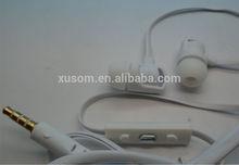 Handsfree headphones Mobile phone headset for iphone samsung blackberry .Factory direct sale. earphone headphone headset earbud