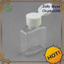 Attractive Mini disposable Cosmetic Bottle for daily chemical with flip cap