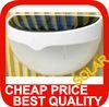 garden solar wall lighting 6pc white LED (5LM)