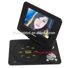 TV USB Game MPEG4 portable car DVD player
