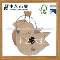 Eco- amigável diy decorativos de madeira bird cage