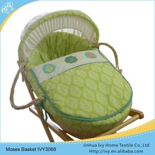 Factory direct sale baby basket set kids picnic set