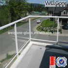 safety price parapet glass railing