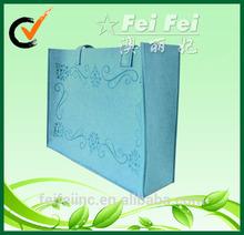 2mm felt fabric felt tote bag for shopping