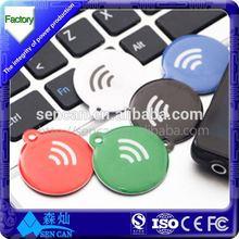 ABS NFC Key Fob NFC Ring Key Fob Waterproof ABS RFID Key Fob