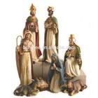 Polyresin Nativity Scene Nativity Set ,Religious Decorative Nativity,Indoor Nativity Sets