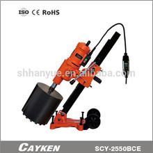 Vertical granite diamond concrete cutting machine and pipe driller SCY-2550BCE