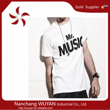 printing men's t- shirt china manufacturer for wholesale