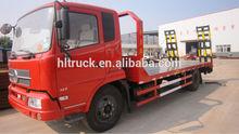 4x2 DFL 14T Excavator loader truck for sale