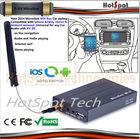 Hotspot 2014 Wholesale mirabox wi-fi mirror link car dvd player with reversing camera