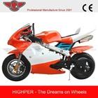 2-Stroke Gasoline Engine Pocket Bike Mini Motorcycle 49CC(PB008)