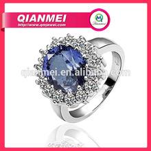 Hot selling fashion cheap Platinum Plating wedding ring