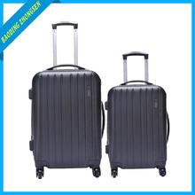 aluminum metal suitcase hard suitcase on wheels