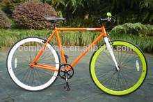 Colorful 43mm 700c bike bicycle rims fixie gear bike cycling