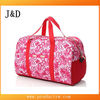 2014 large capacity fashion polyester ladies travel bags
