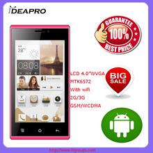 "D1000-4.0"" LCD WVGA mini cell phone smart phone"
