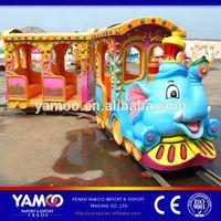 High Quality Children Games! Elephant Train Rides/electric train/children train in Playground