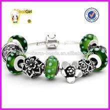 floating charm bracelet 925 siver nickel free