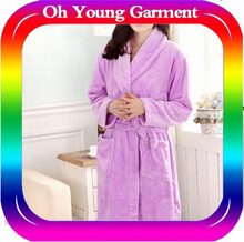 high quality cheap fashionable new style nightclothes wholesale winter pajamas from china supplier women's gowns couple gowns
