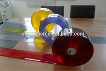 Transparent plastic flexible pvc roll, clear flexible pvc roll
