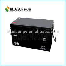 Bluesun high quality sealed maintenance free 12v 100ah solar battery