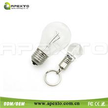 2014 hot light bulb shape usb stick for wholesale pric 1gb