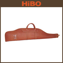 2014 hot selling genuine leather tactical shotgun case