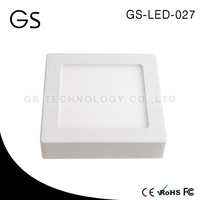 best selling 6w/12w/18w/24w square surface mount led downlight