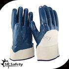 SRSAFTY High Quality glove nitrile coated/ heavy duty work gloves
