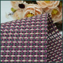 PVC foam mesh fabric vinyl coated mesh fabric non slip pvc floor mat