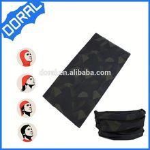 5 in 1 polyester tubular reflective custom logo neck warmer headwear
