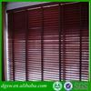 Horizonal heavy duty manual PVC ladder tape venetian zebra window blinds outdoor faux wood window blinds