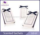 car air purifier freshener paper perfume sachet for gift aromatic car air freshener